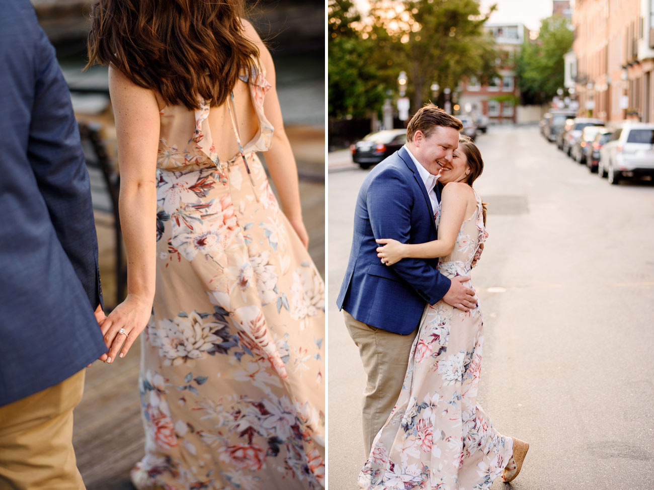 engagement photos and inspiration in charlestown massachusetts