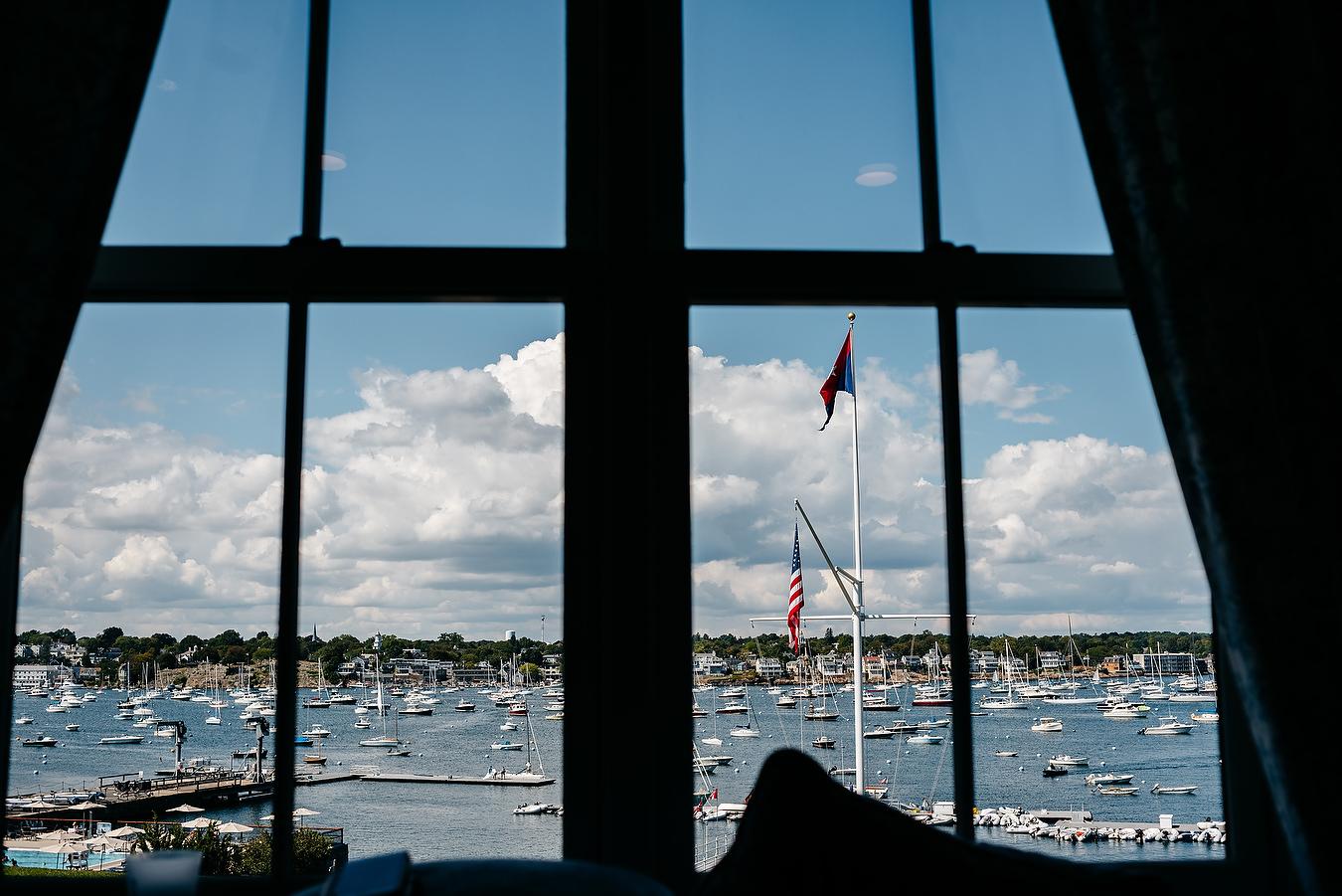 eastern yacht club harbor views