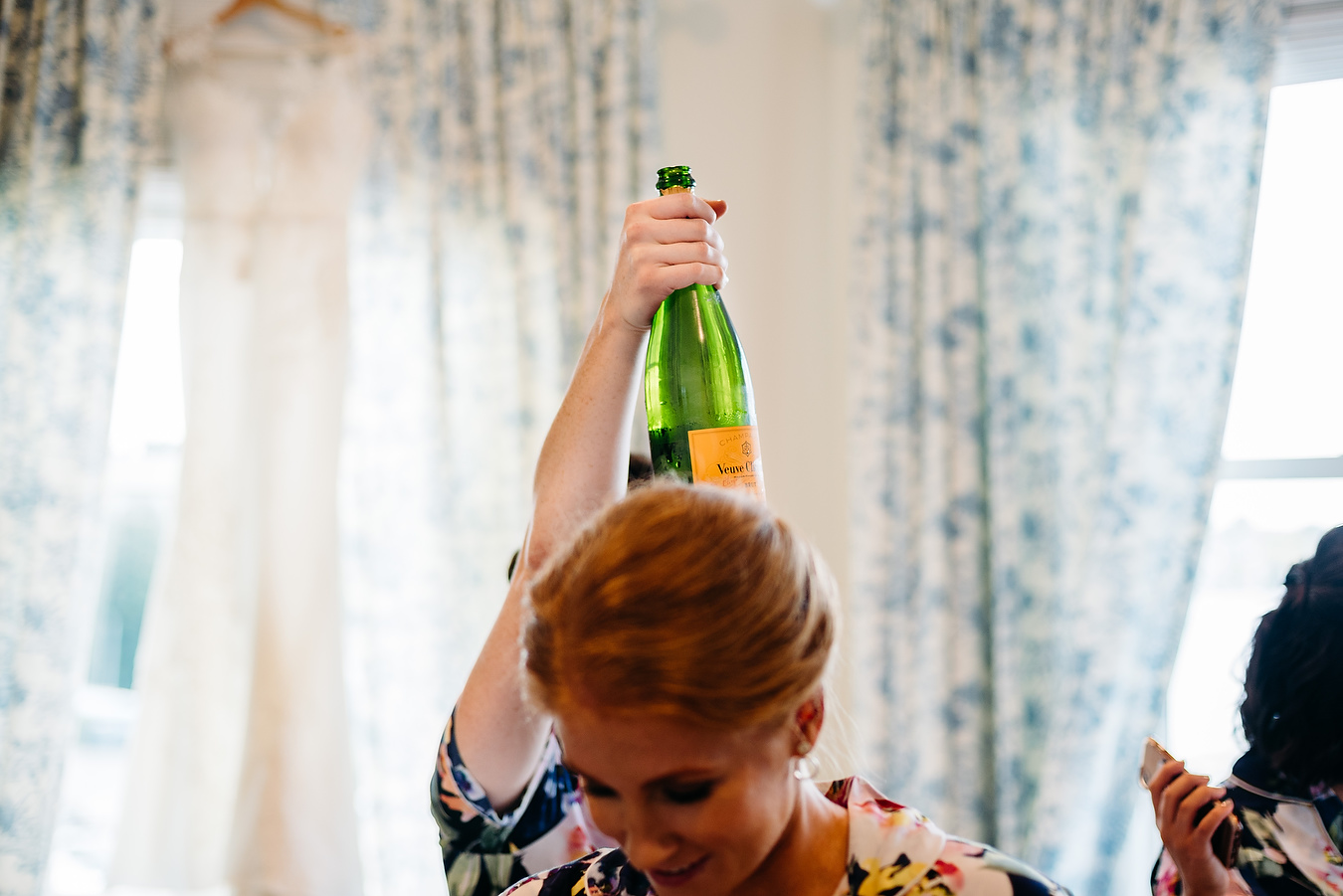 champagne at weddings in boston