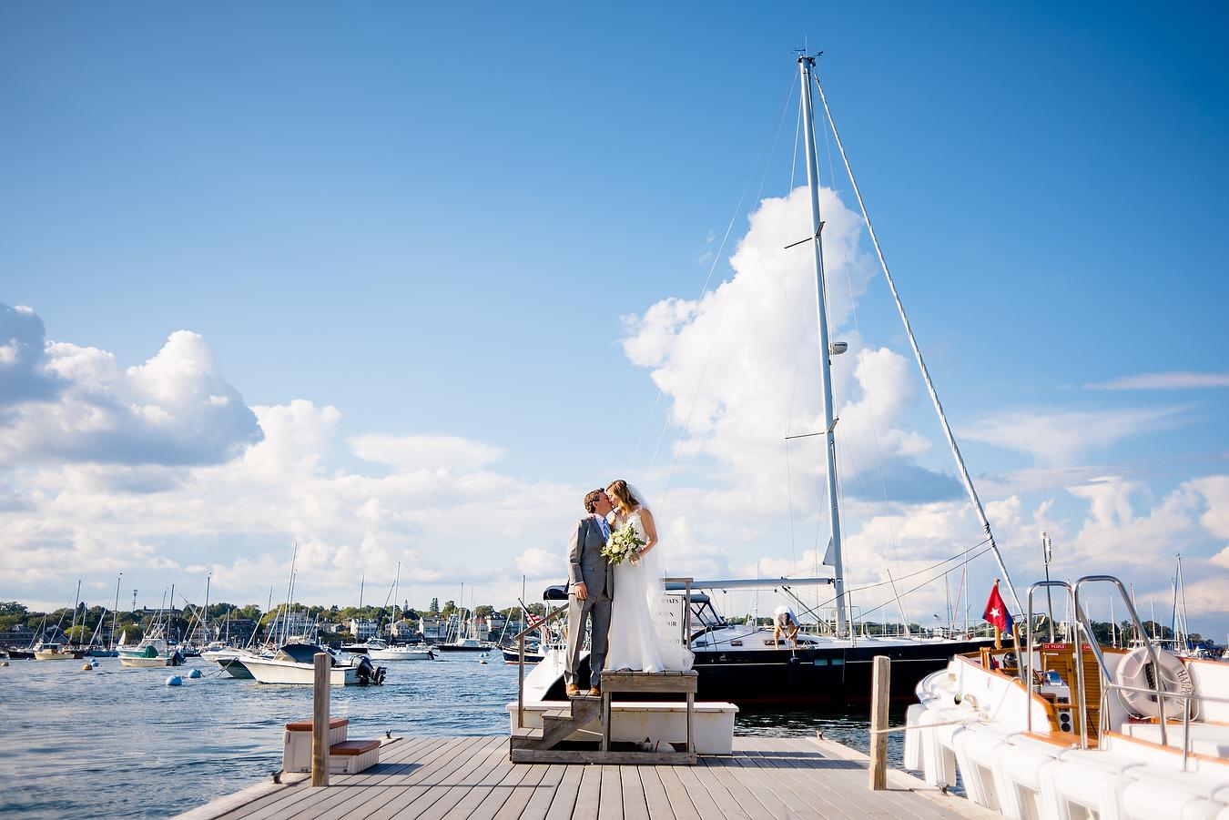 eastern yacht club wedding portraits and ideas