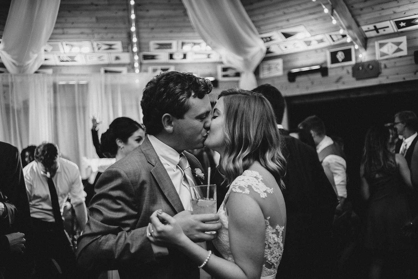 dance floor at the eastern yacht club