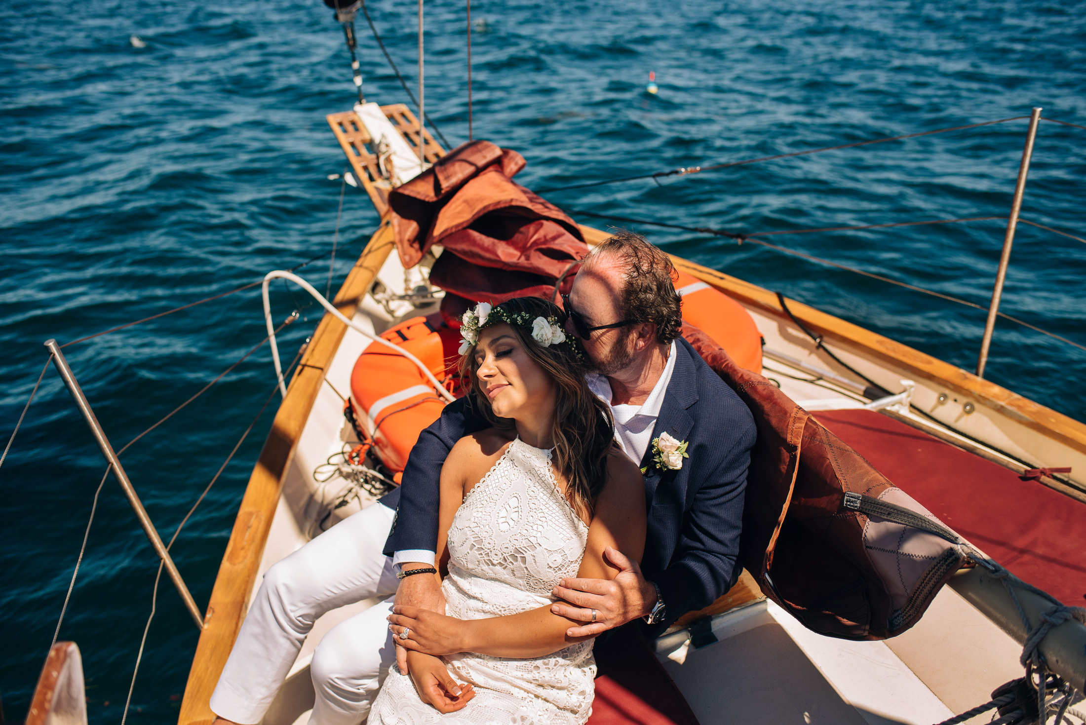 portland maine getting eloped on a boat