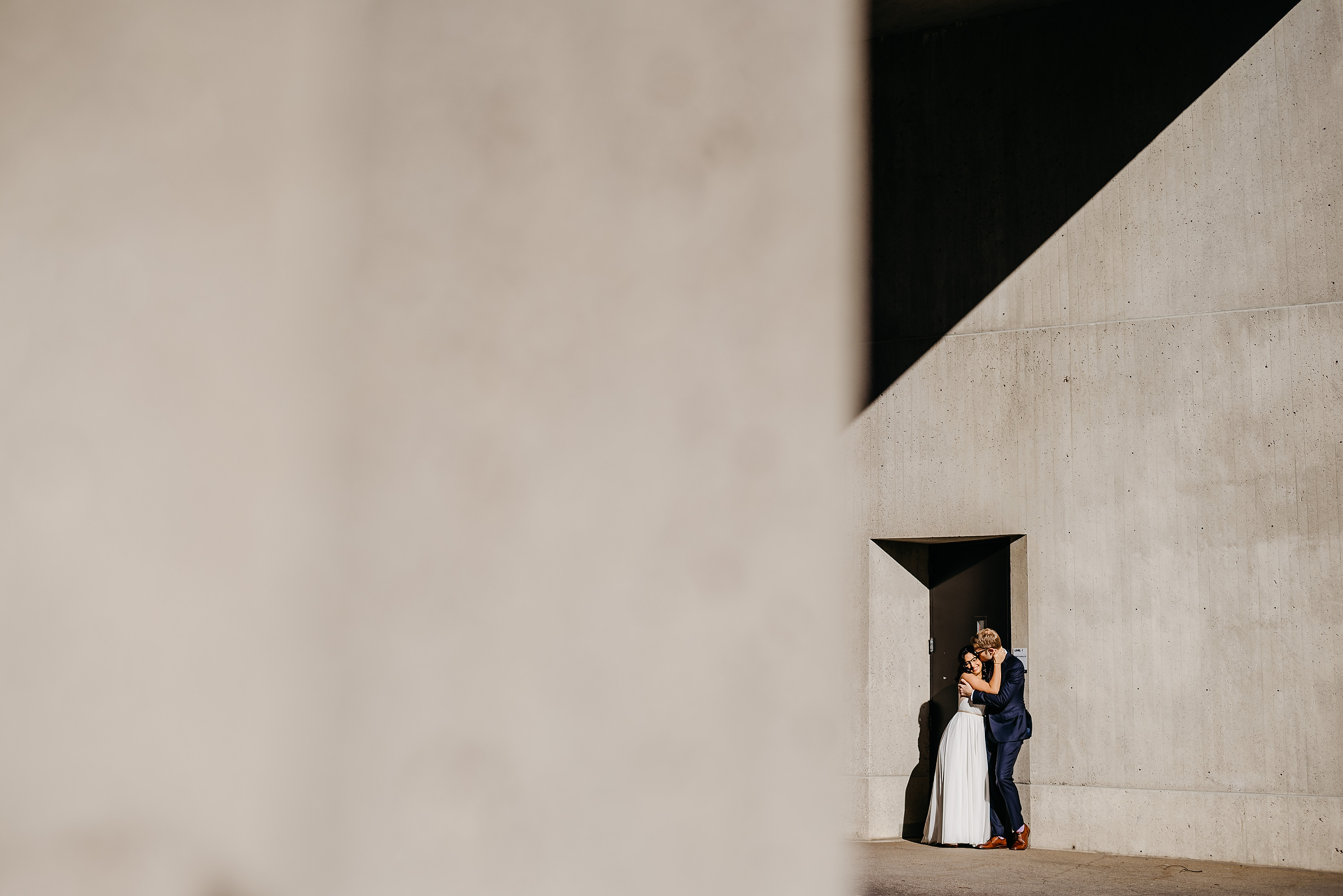 creative and modern elopement photos in boston and cambridge