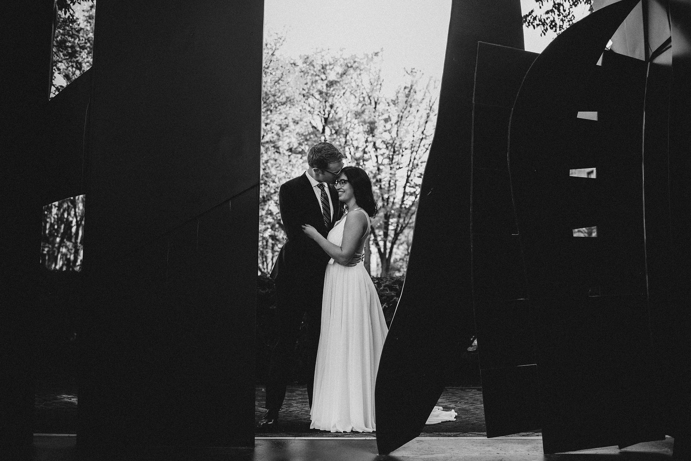 artsy and creative wedding photos in boston