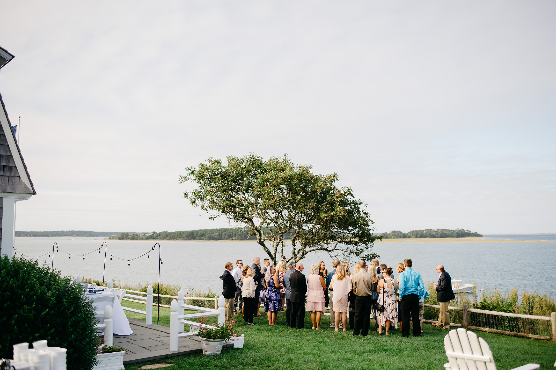 cape cod beach wedding ceremony