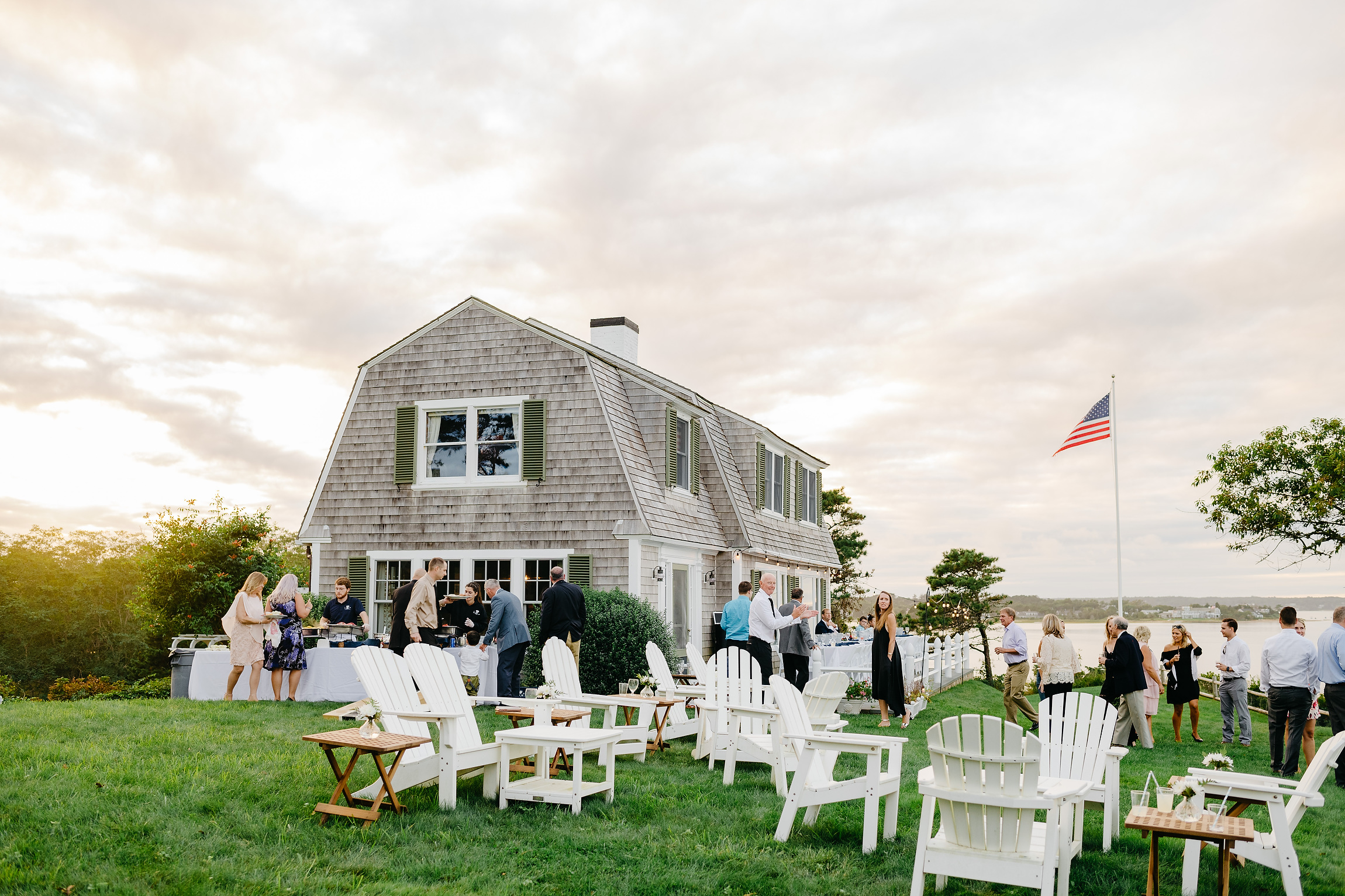 cape cod private home wedding ideas