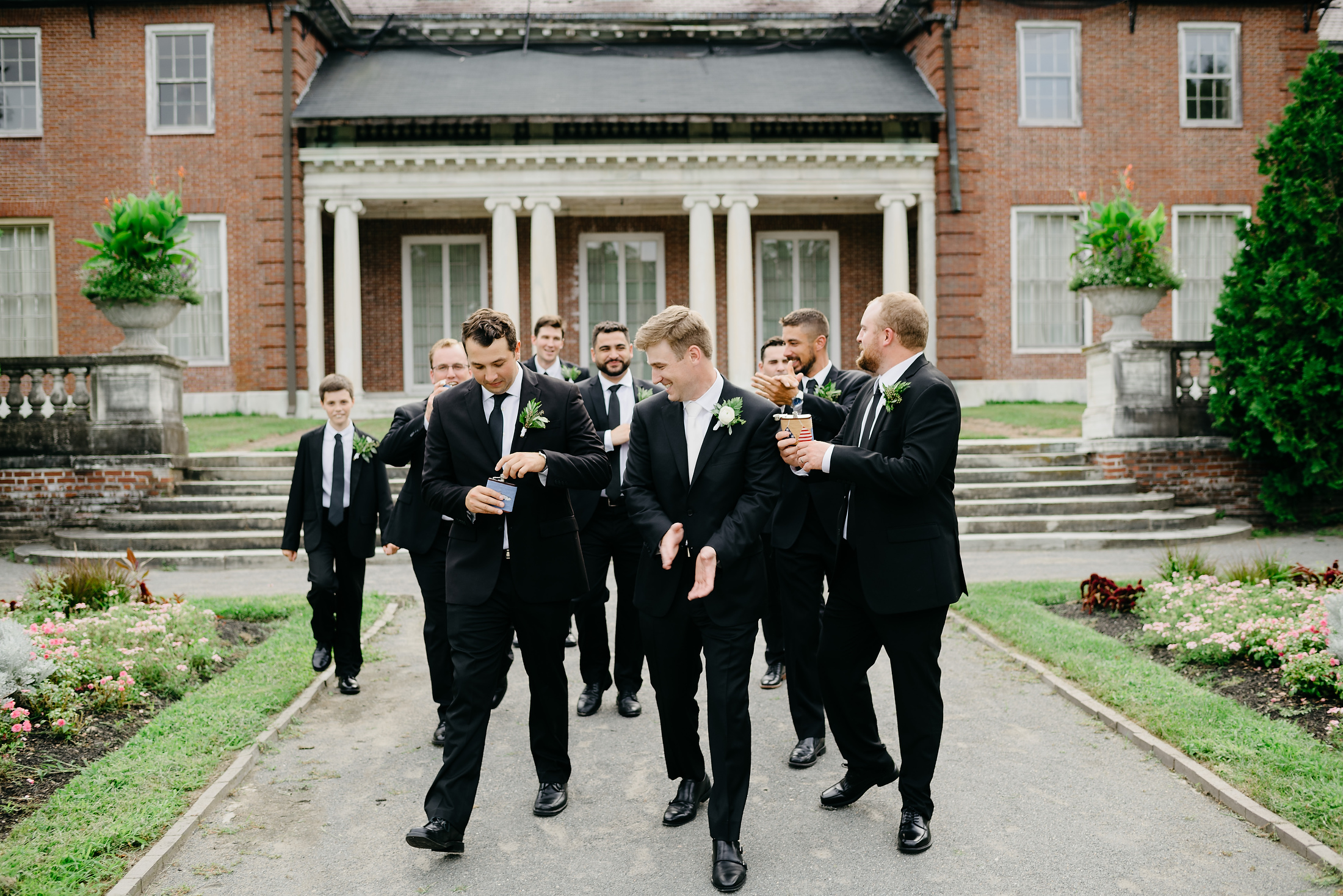 best groomsmen gifts flasks in boston