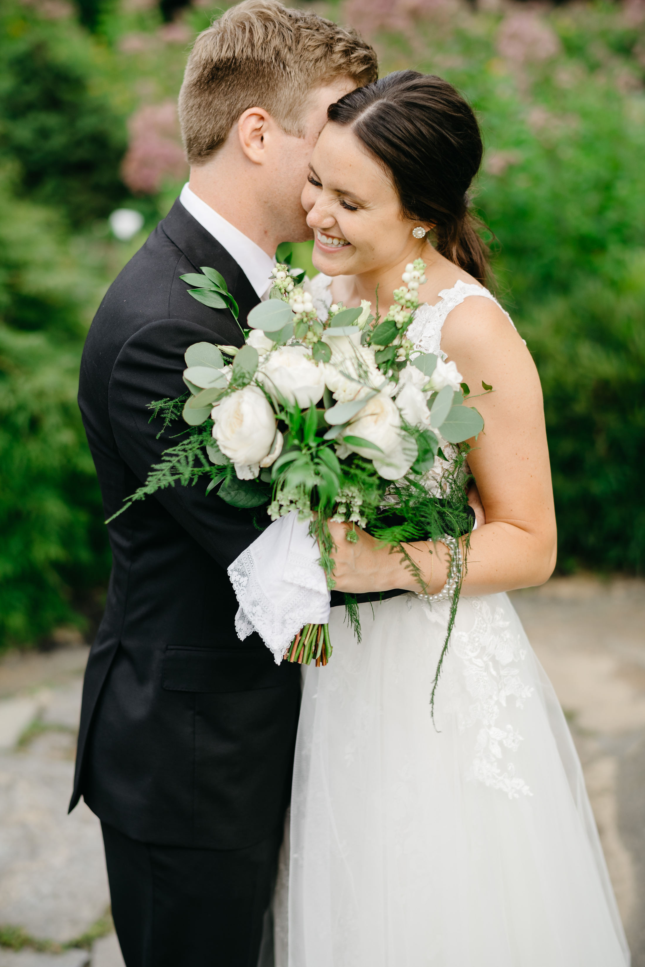 boston public library garden wedding