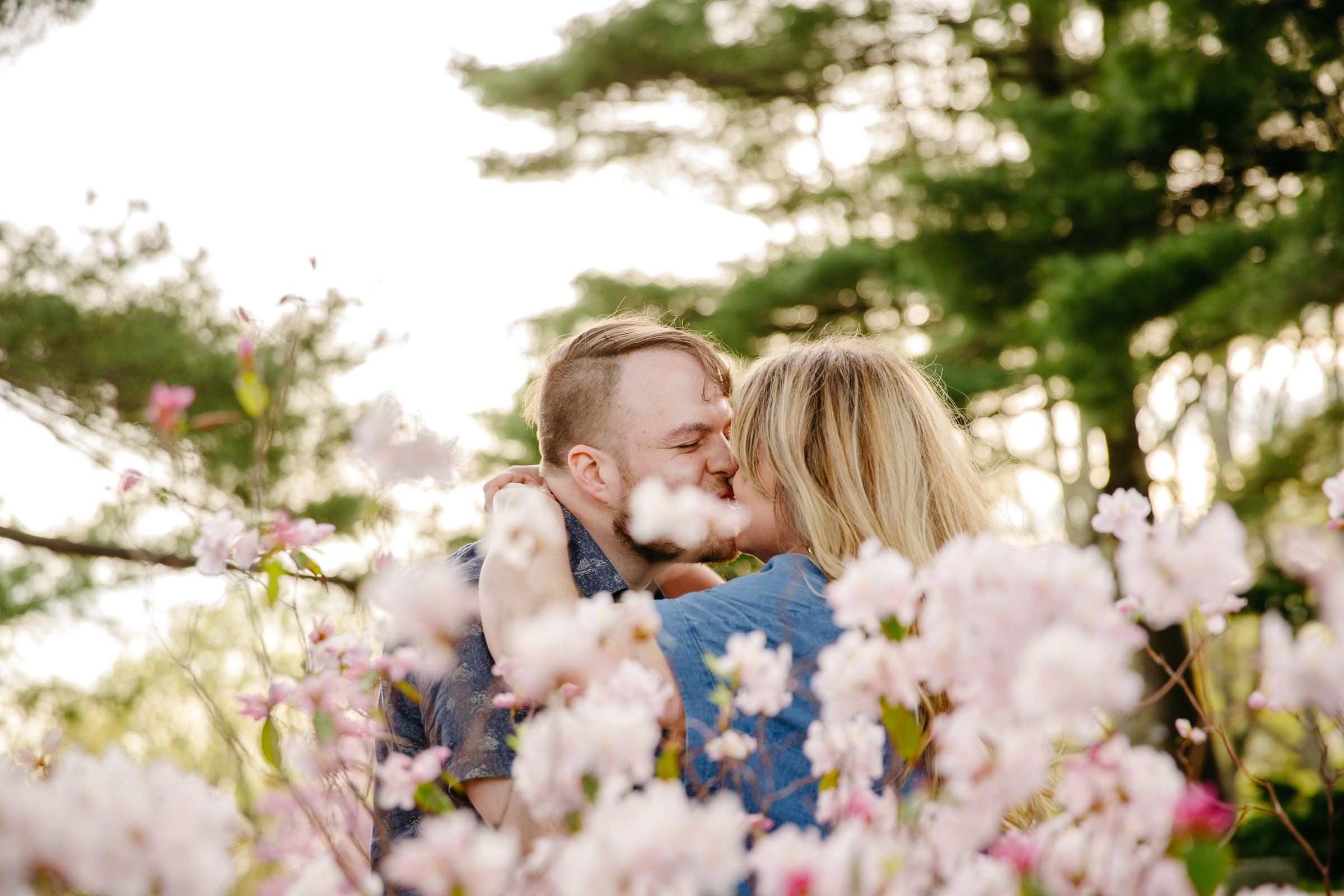 romantic and fun boston engagement session