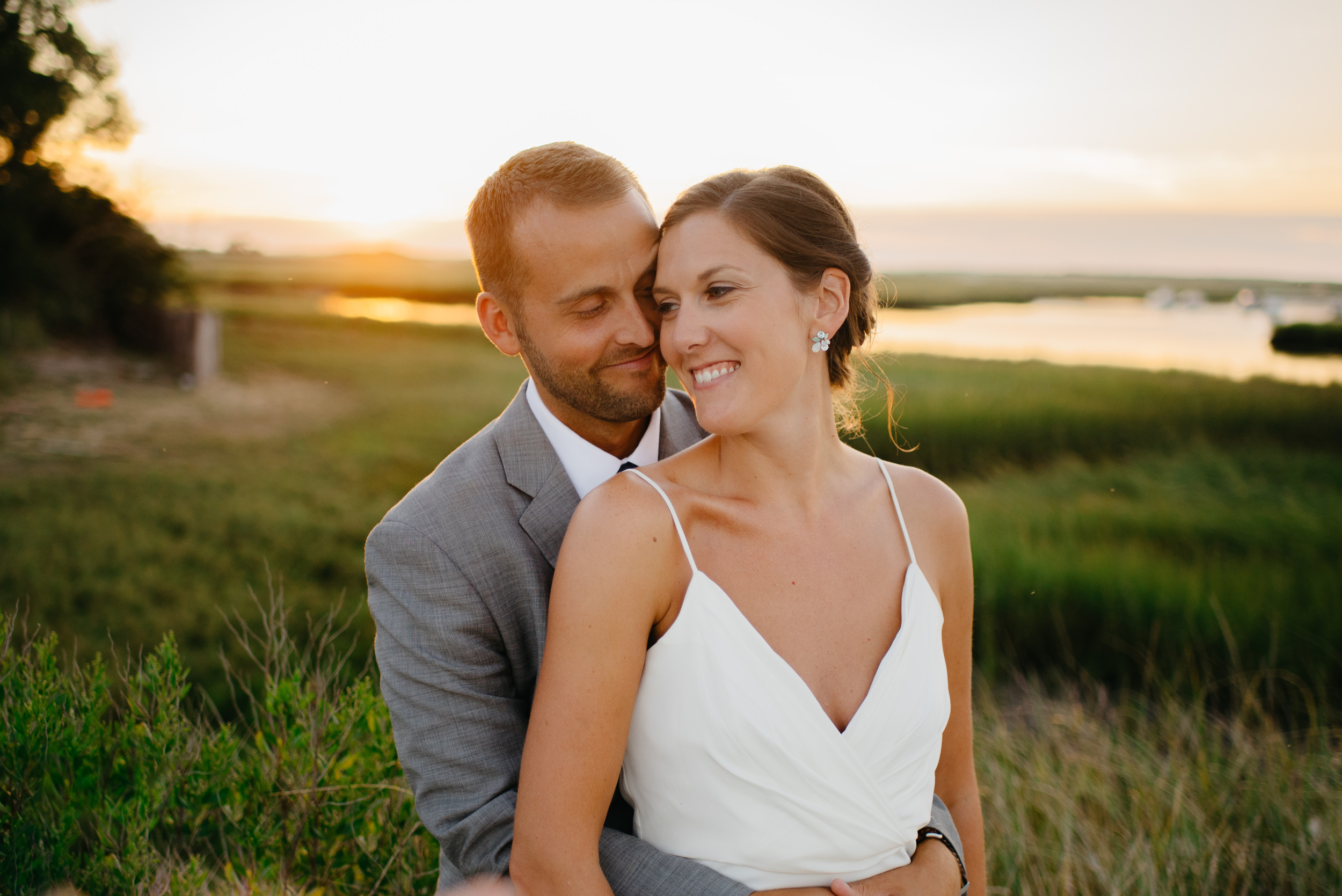 dennis inn and brewster area cape cod couple at sunset