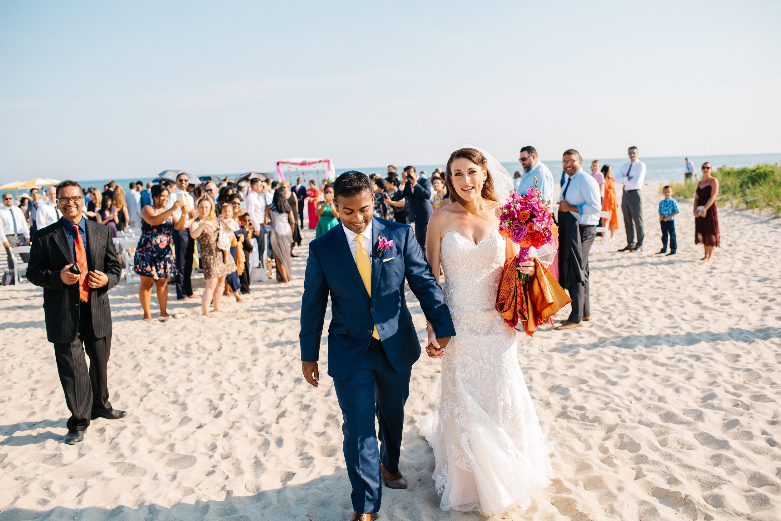colorful indian & american style wedding at Wychmere Beach Club Cape Cod Wedding