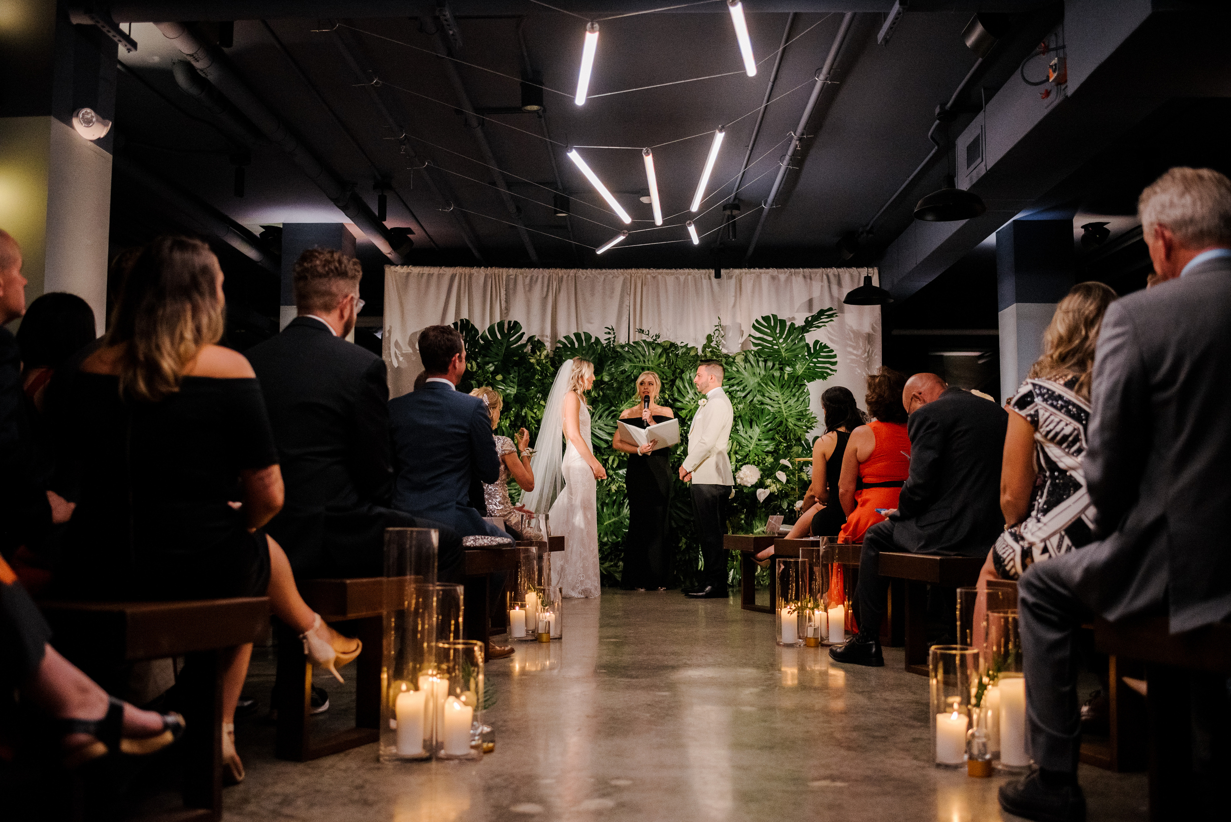 modern dark and moody wedding venue in new england boston and nyc