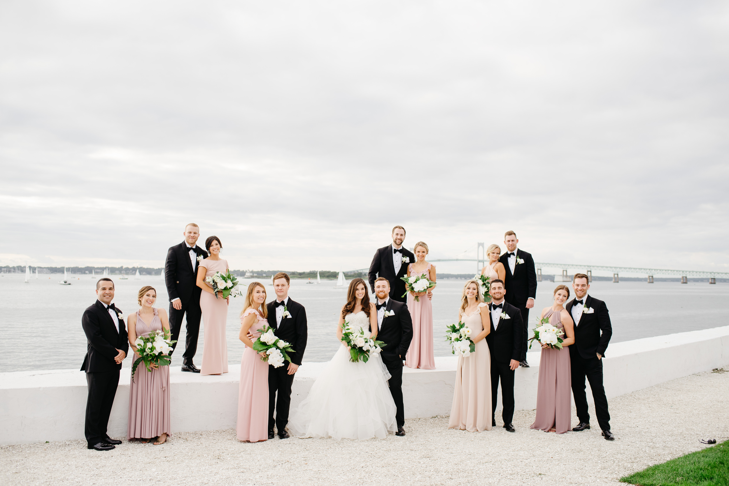 celebrity wedding in newport black tux and stunning portraits vogue