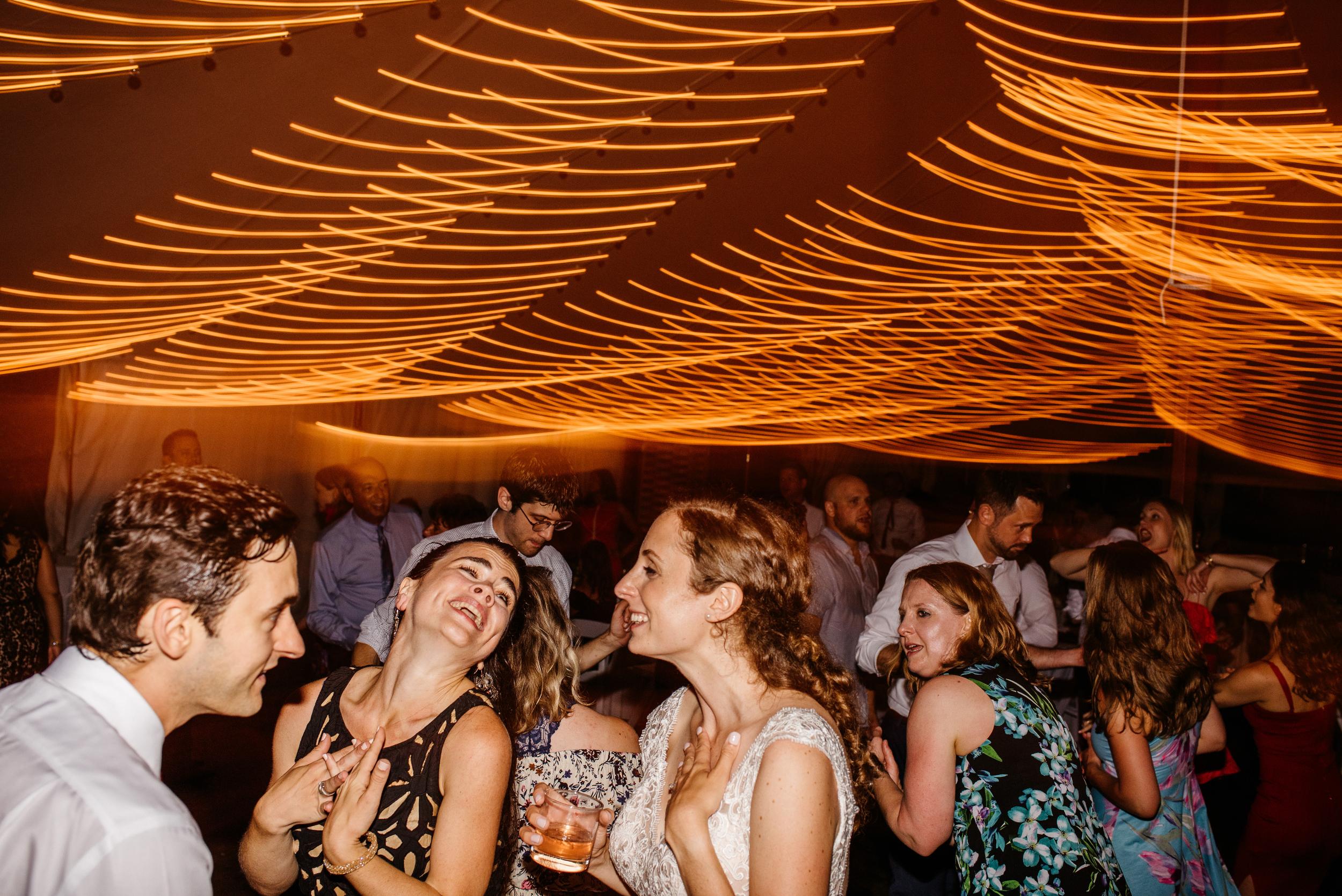 moraine farm wedding dance party