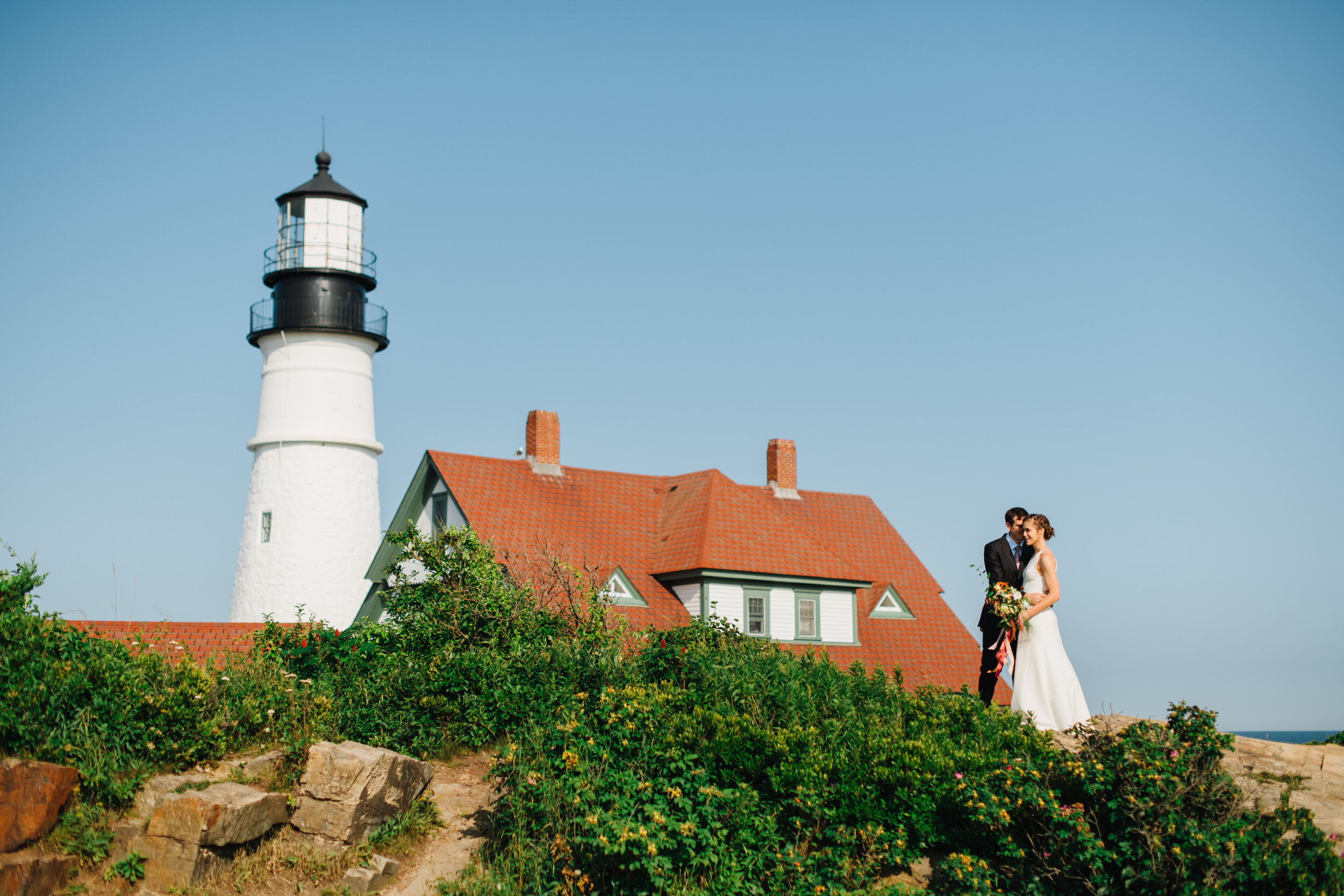 best maine lighthouses for weddings and inspiration