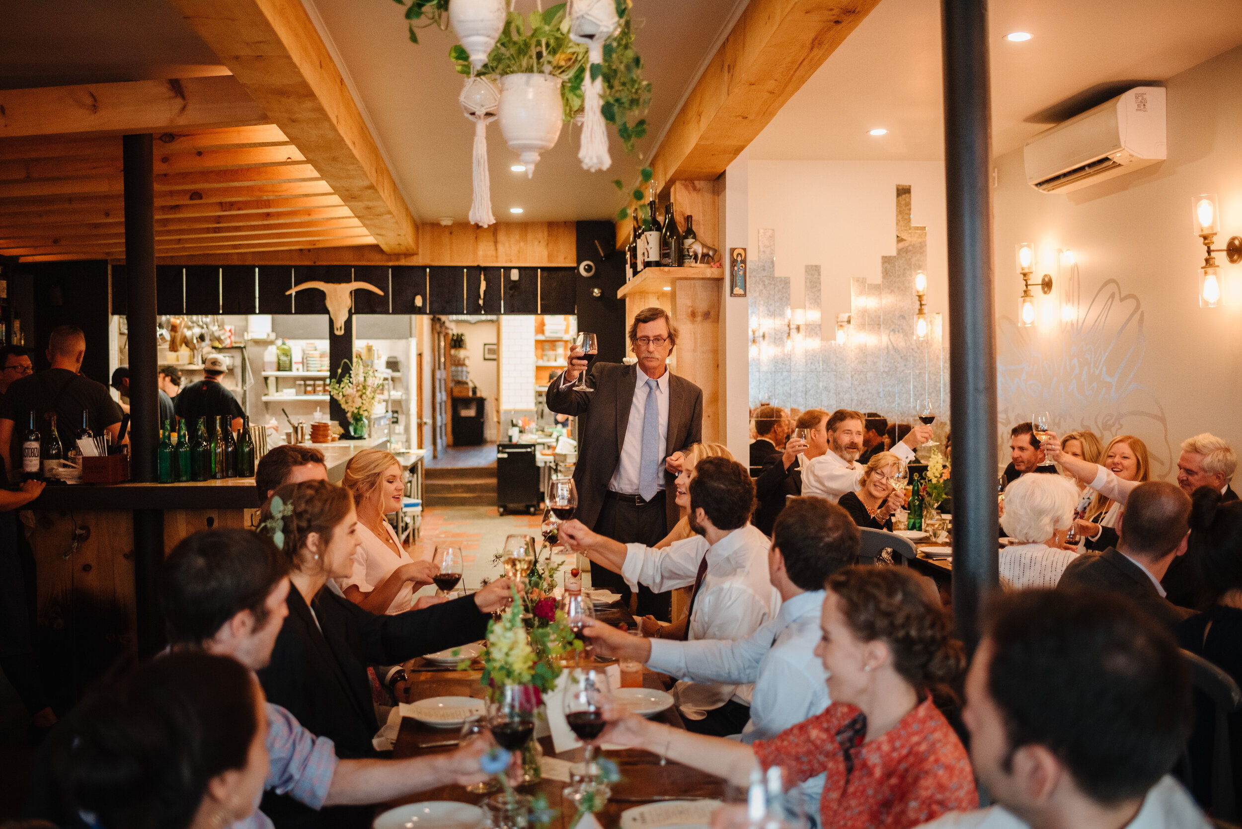 private wedding dinner at chaval in downtown portland maine restaurant wedding venues