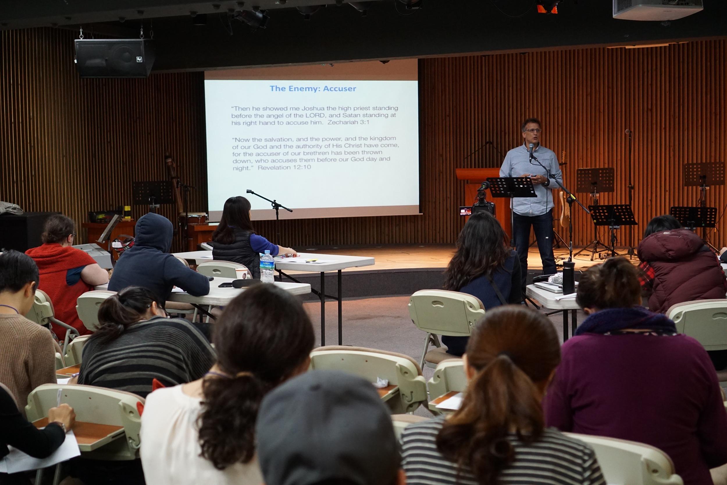 Bob Ekblad teaching on inner healing