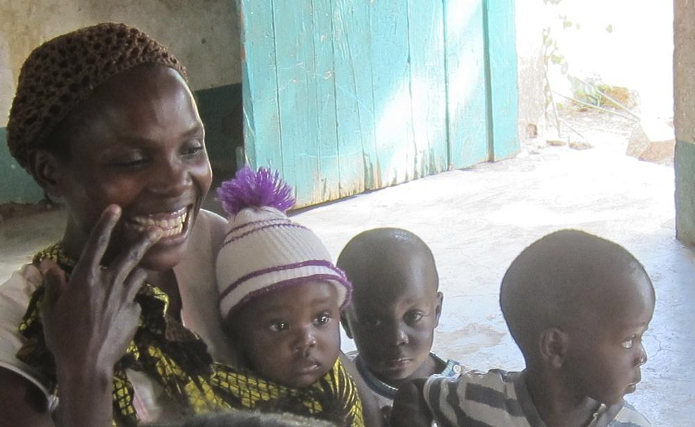 Gorgeous mom and her family, Shirati, Tanzania