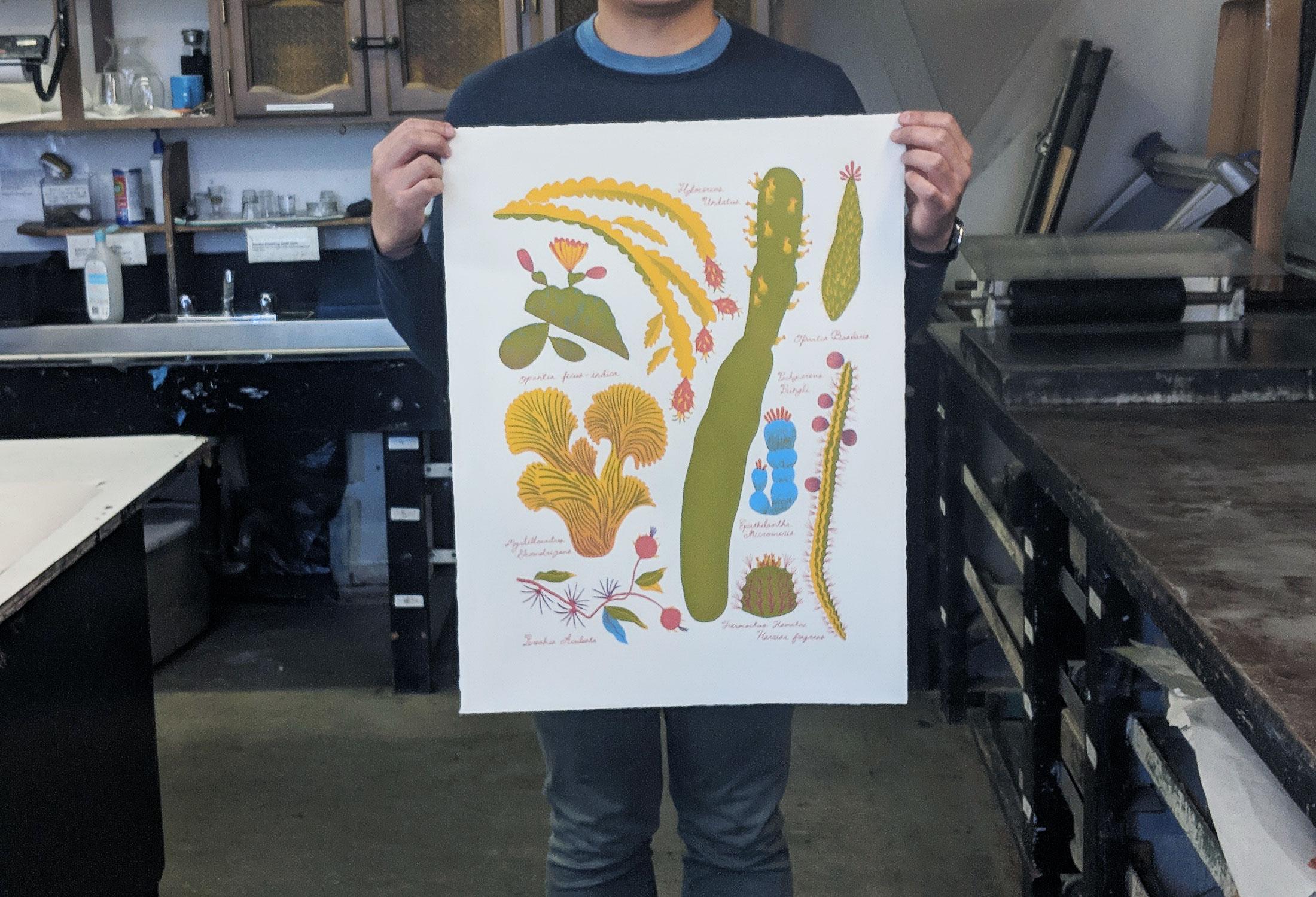 Printmaking & Exhibition