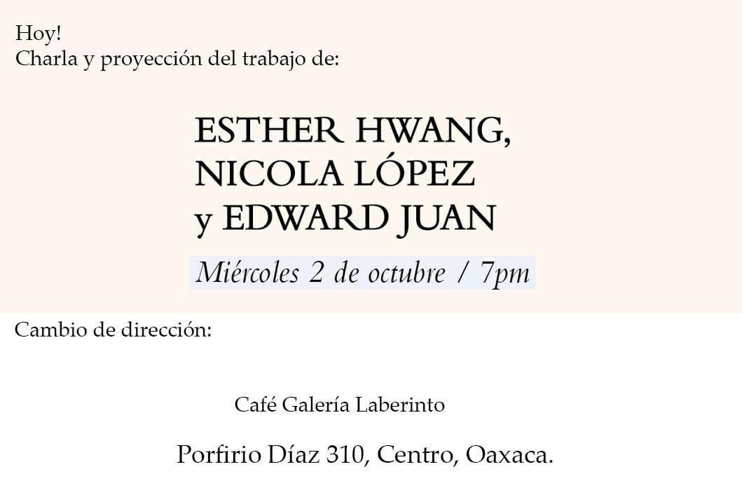 oaxaca artist talk