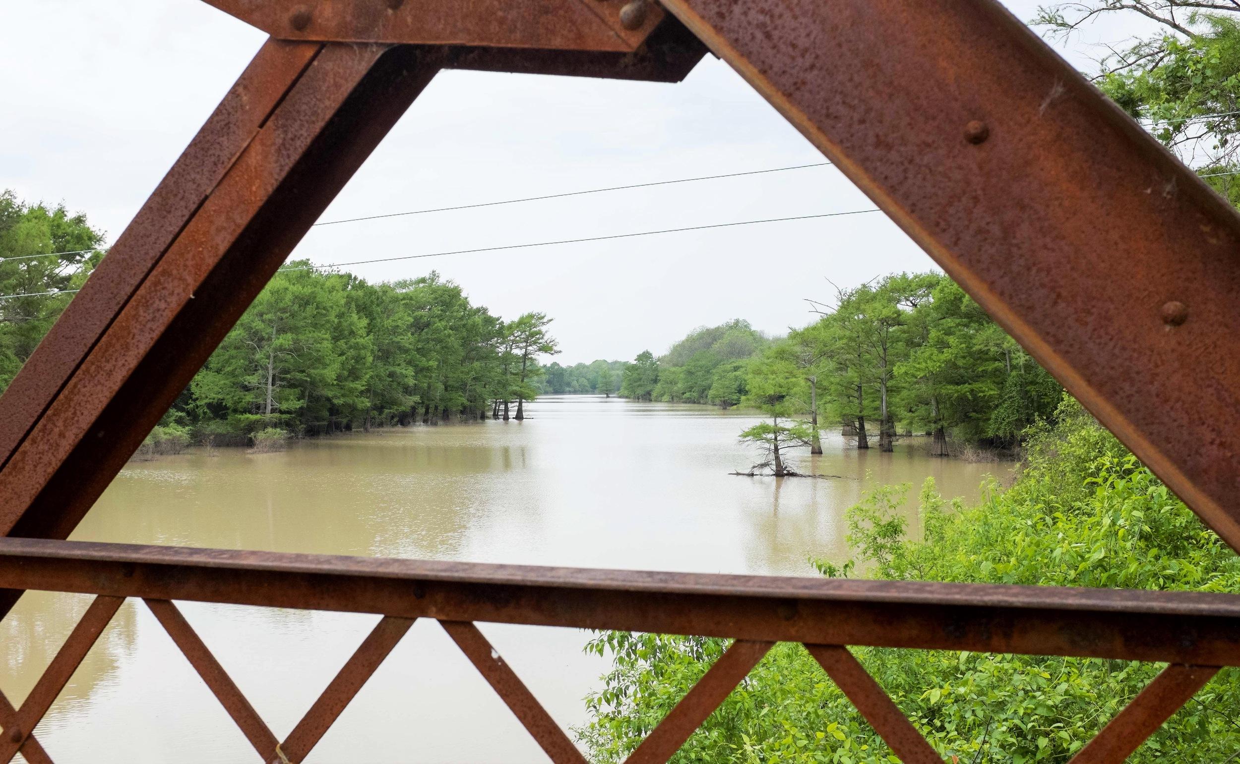 Bridge where Emmett Till's body was dumped into Black Bayou.jpg