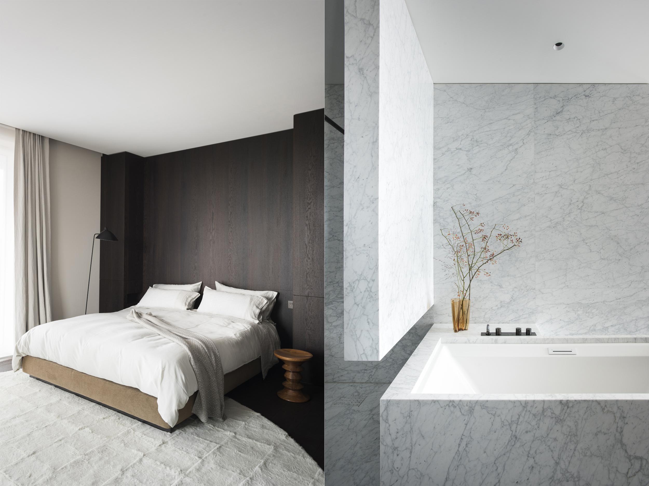 Slaapkamer - badkamer
