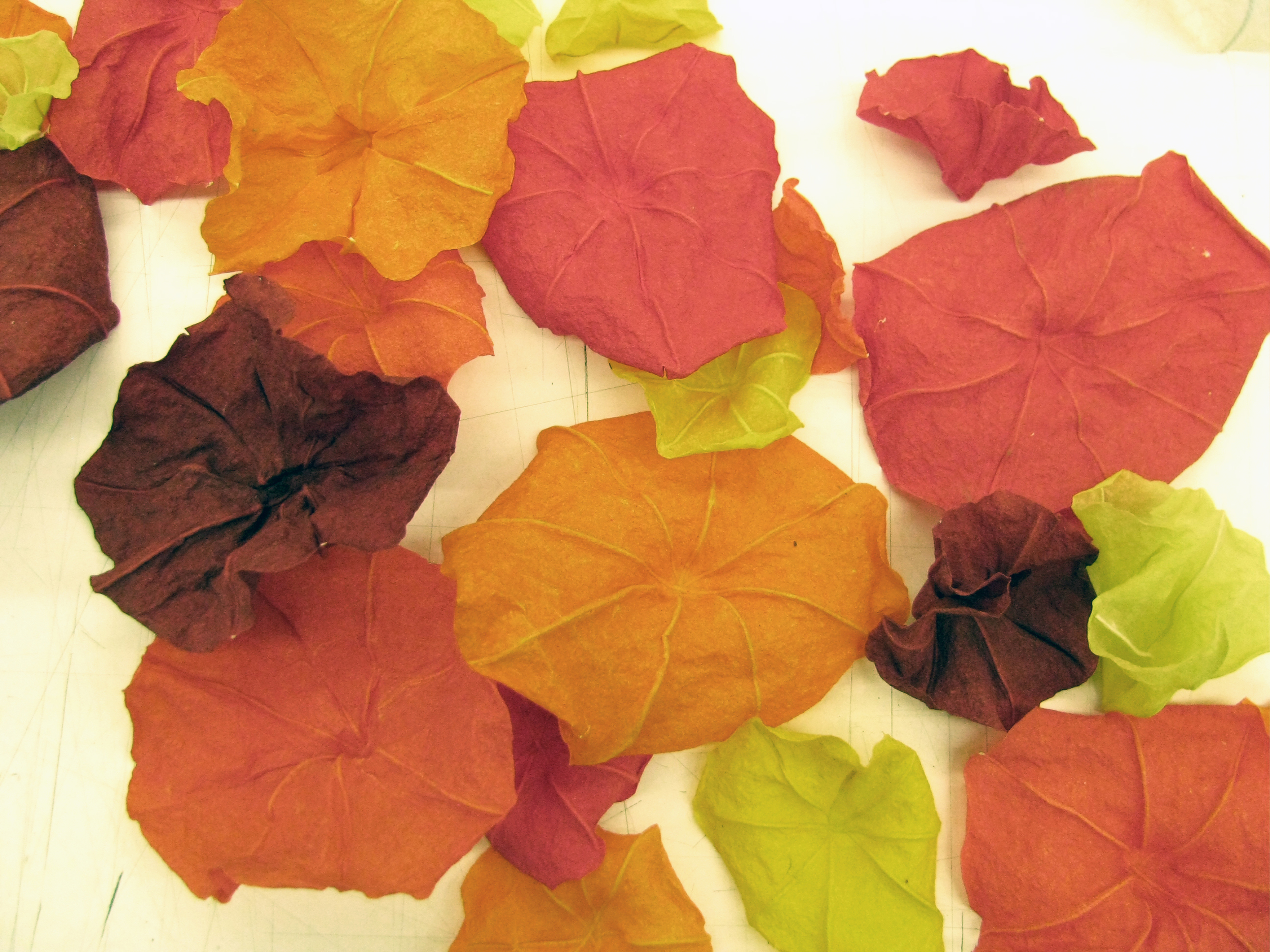 handmade paper flowers by allison milham