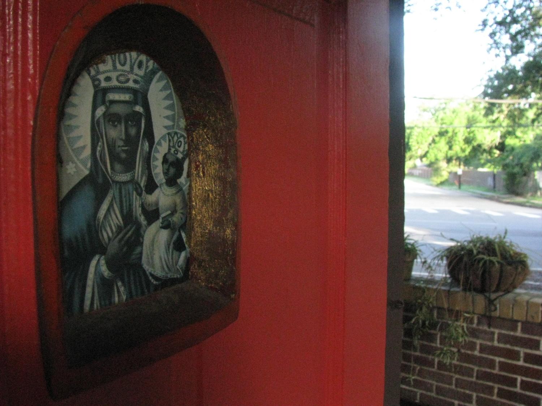 friends' front door, new orleans