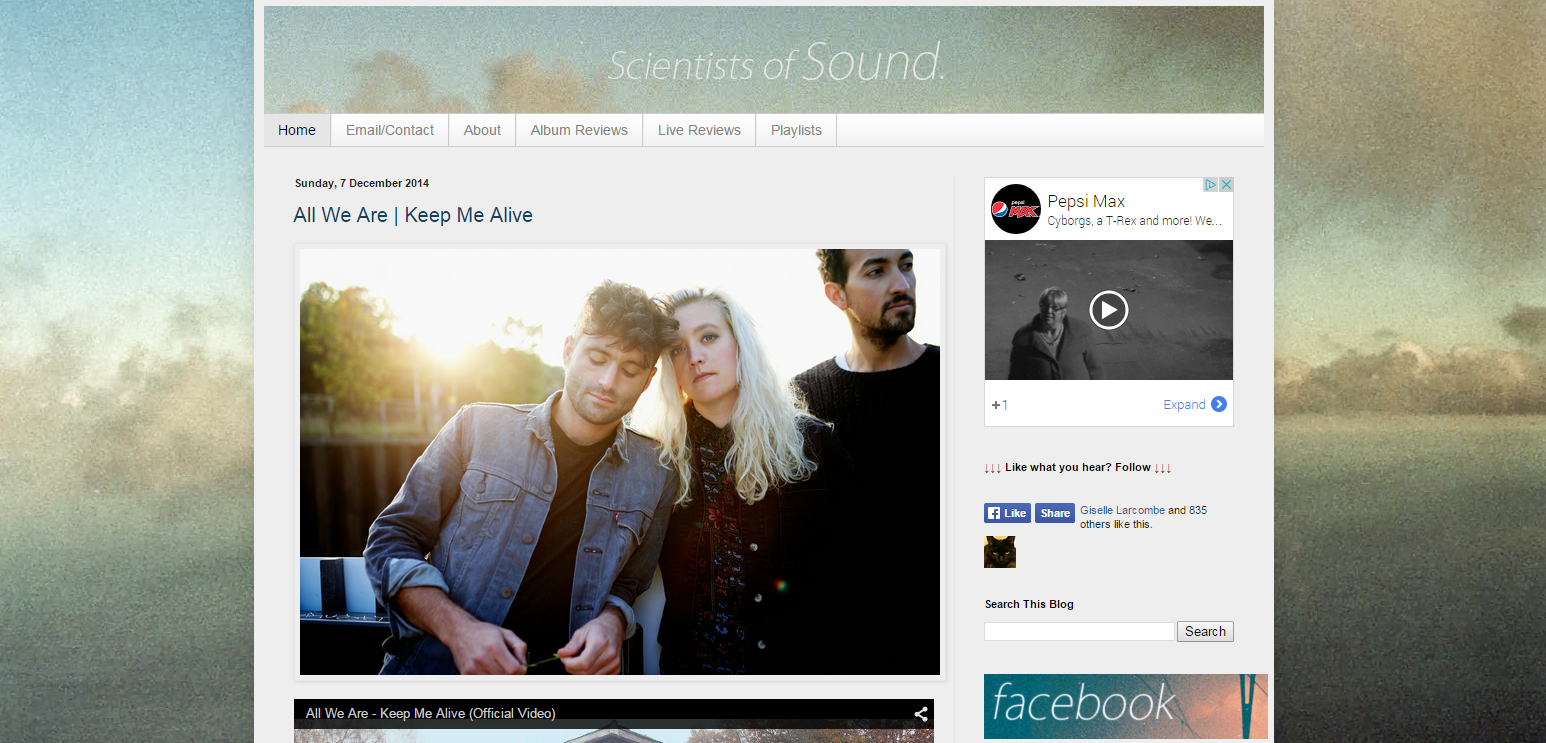 Scientists of Sound