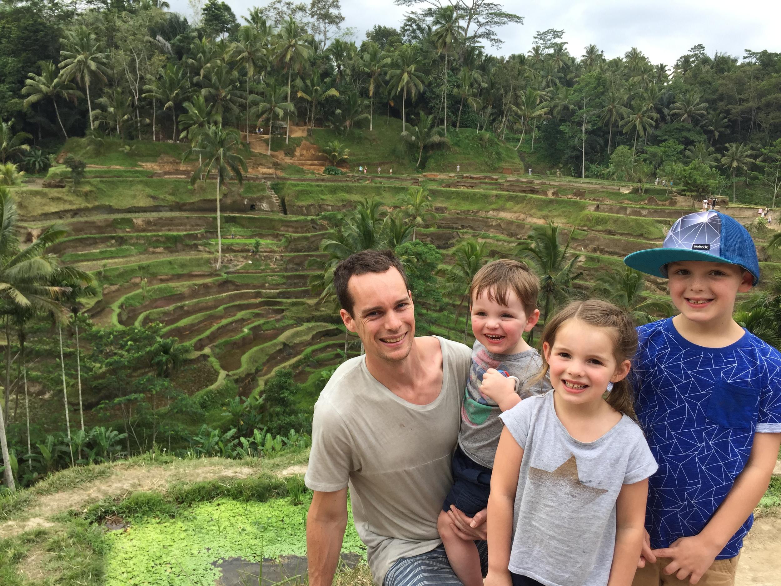 The Stunning Rice Fields of Bali