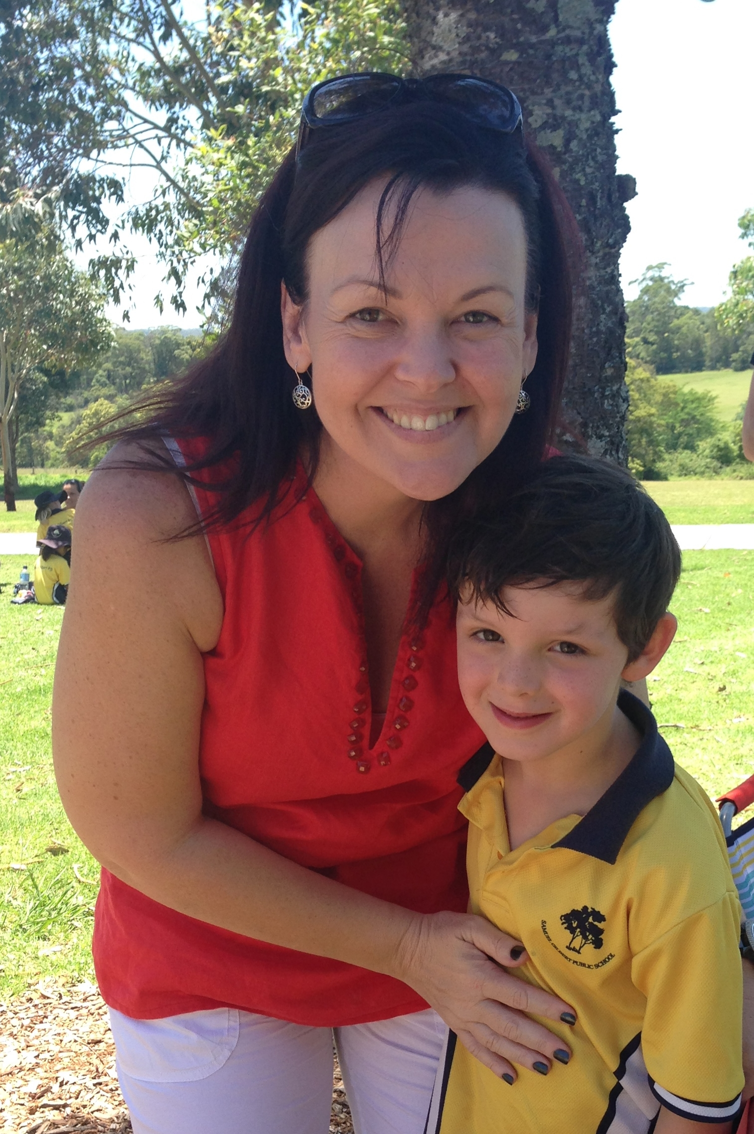 Jack and his beautiful Kindy teacher Mrs Miller
