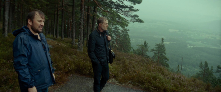 """Gavagai  is an extraordinary and memorable film; its strong and clear emotional refinement arises from a rare force of imagination, a rare power of observation, a rare cinematic sense to fuse them, and a rare skill to realize them together.""""     – Richard Brody,  The New Yorker      German businessman Carsten Neuer travels to Norway to finish the impossible translation of some Norwegian poems by Tarjei Vesaas into Chinese, a project of his late wife. He hires Niko, a down-on-his-luck tour guide, to drive him to the poet's home and places of inspiration to stimulate his own translation. On the road, the ghost of Carsten's wife appears to him, while Niko struggles with the sudden consequences of his girlfriend's pregnancy. On this journey, two very different men come to realize the transforming power of love, the limits of language, and the human need for friendship.  Tarjei Vesaas is generally considered to be one of Norway's greatest writers and perhaps its most important since WWII. Lichtbogen obtained the rights to use Vesaas' work in the film from his estate and from his publishers, Gyldendal Norsk Forlag AG.  The fourth feature from Rob Tregenza, the film was shot entirely in Telemark, Norway on 35mm, composed of only 21 scenes and 23 shots. It stars Andreas Lust (from the Golden Bear-nominated film  Der Räuber ,  The King's Choice , and the Oscar-nominated film  Revanche ), Anni-Kristiina Juuso (from  The Cuckoo  and  The Kautokeino Rebellion ), and Mikkel Gaup (from Tregenza's  Inside/Out  and the Oscar-nominated films  Pathfinder  and  Breaking The Waves ). The film also features sound editing from Gisle Tveito ( Oslo, August 31st  and  Force Majeure ) and an original score from Cascade Duo.   In theaters August 3rd, 2018 Limited      For North American booking information, contact    Shadow Distribution    at 207-872-5111 or  shadow @ prexar.com ."""