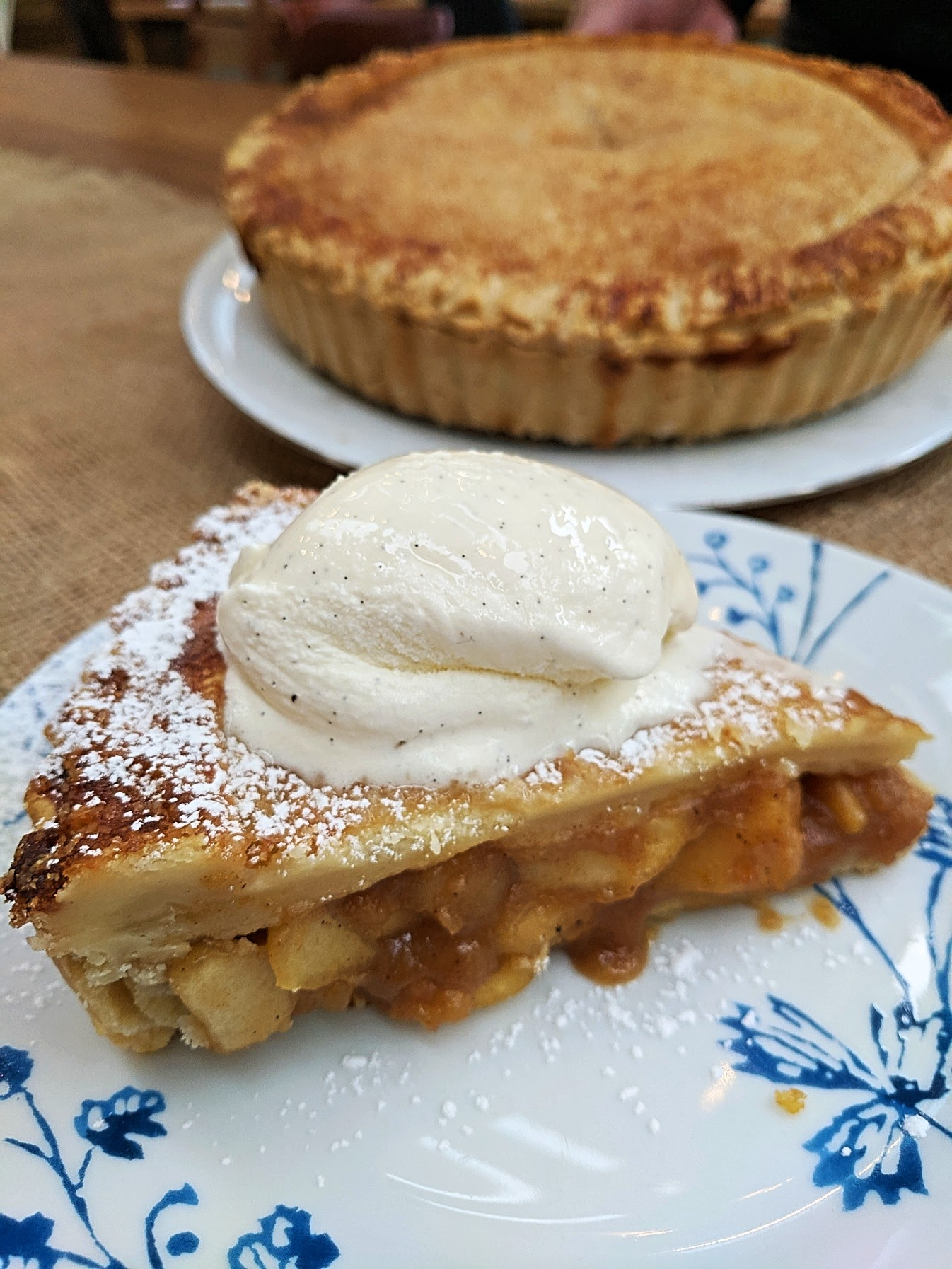 Delicious apple pie