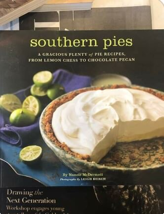 So excited to be getting all kinds of Southern cookbooks. And PIE.