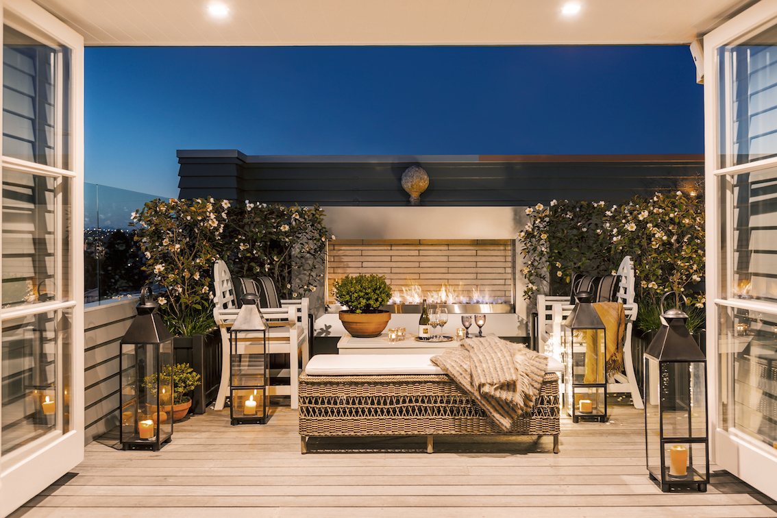 St Marys Residence Private Outdoor Fireplace