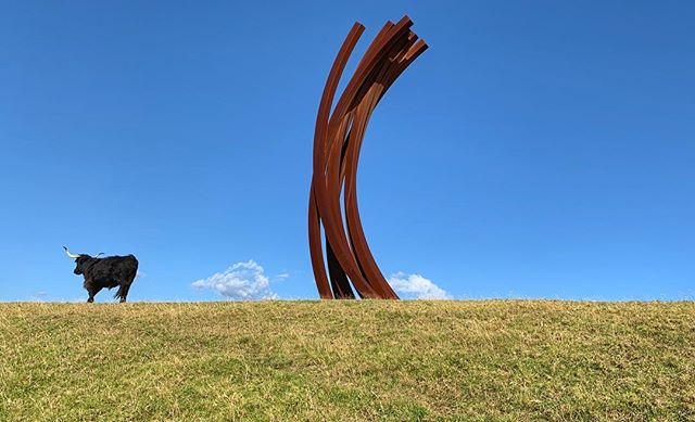 We had the fortunate pleasure of visiting Gibbs Farm twice in a week with guests. Thanks Alan and Jane for the incredible experience. #art #sculpture #nzpure #gibbsfarm #anishkapoor #neildawson #richardserra #bernarvenet