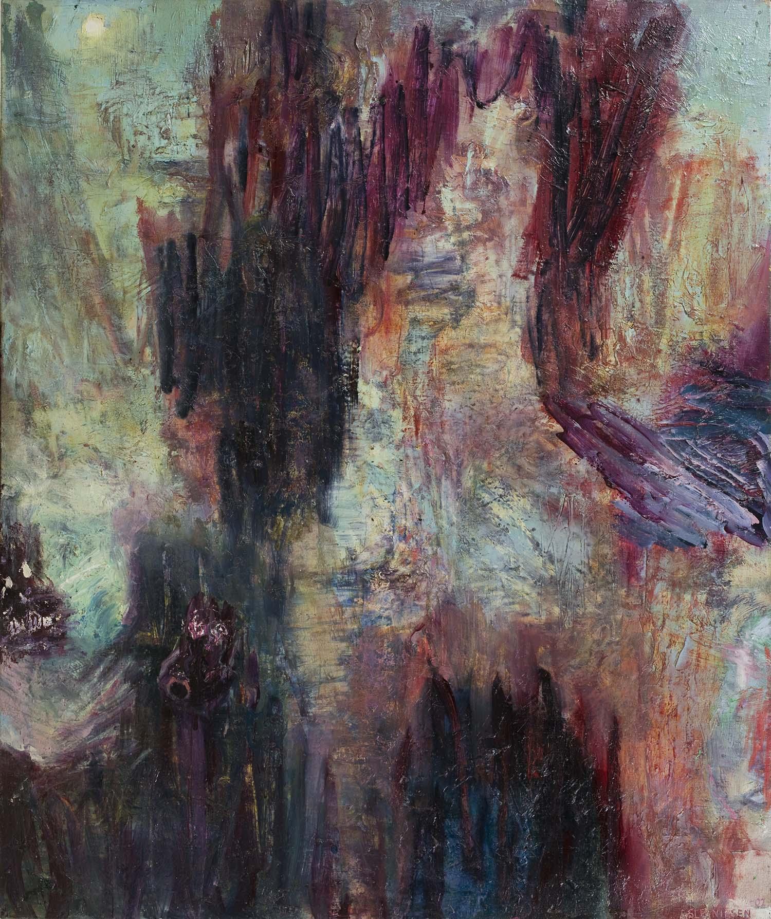 Oil on canvas. 220 x 200 cm