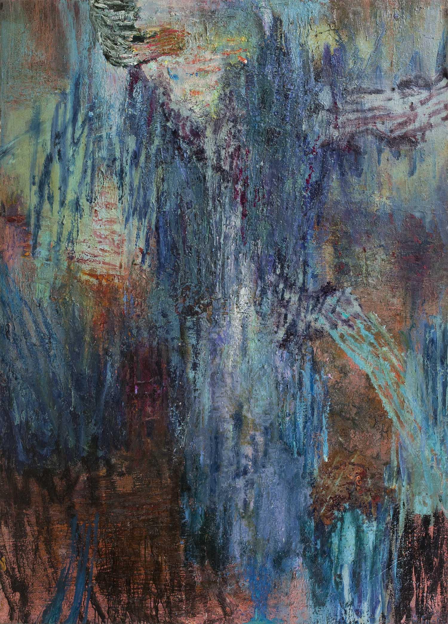 Oil on canvas. 230 x 190 cm