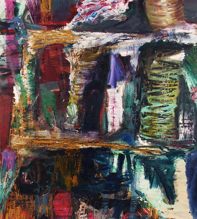 Oil on canvas. 180 x 160 cm