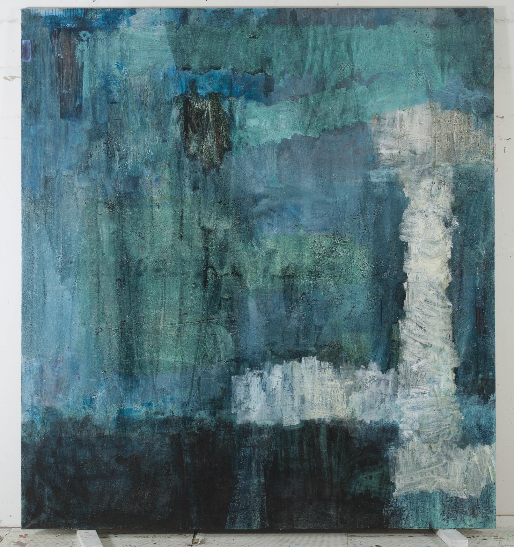 Oil on canvas  220 x 200 cm