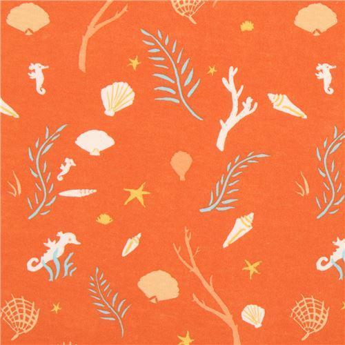 orange-with-cute-seahorse-branch-oyster-birch-knit-organic-fabric-USA-212829-1.JPG