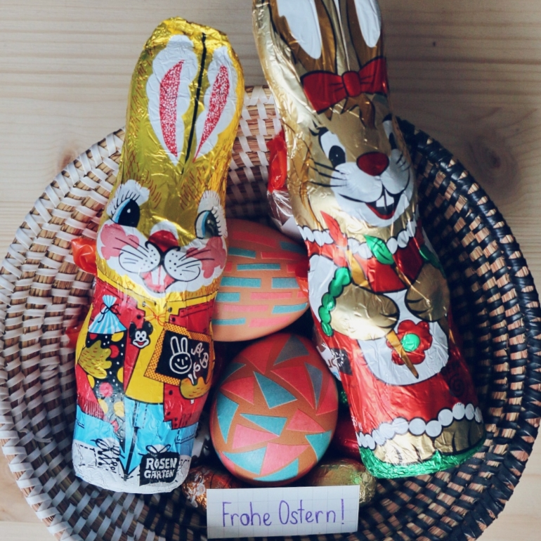 Frohe Ostern! - Happy Easter!