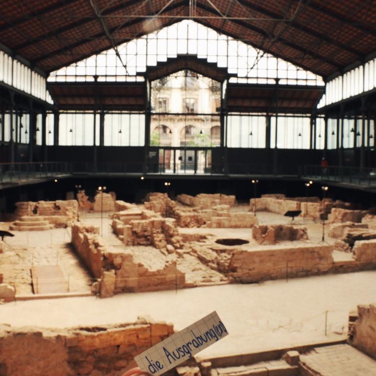 die Ausgrabung - archeological site