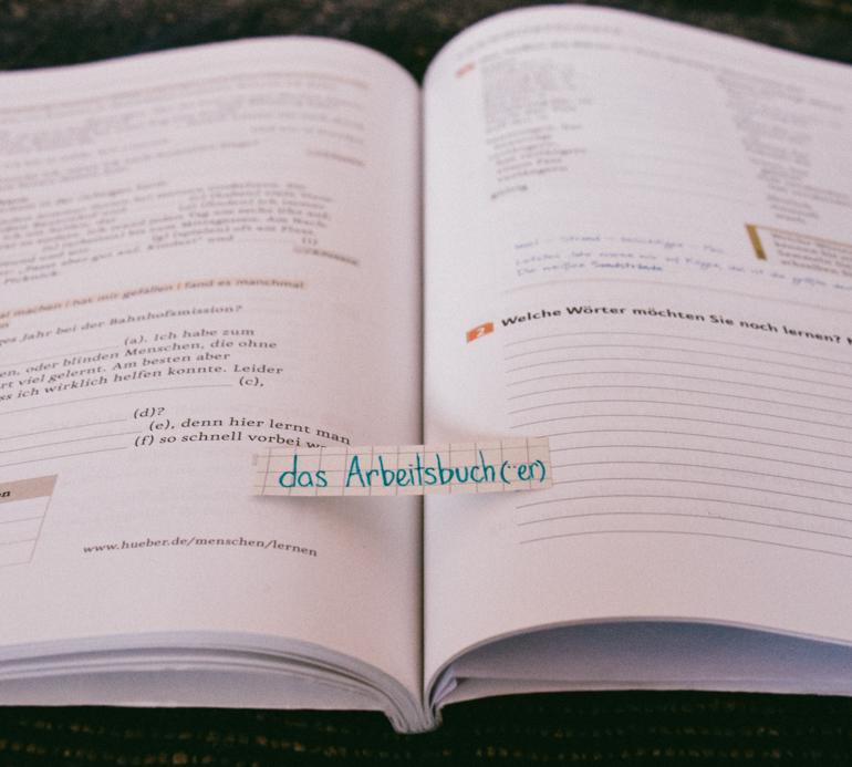 das Arbeitsbuch