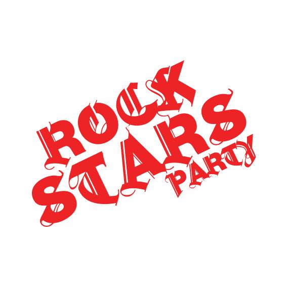 ROCKSTARS  Festa que passeia pelo universo do rock e todas suas vertentes, ideal para abordar temas ligados a essa atmosfera.