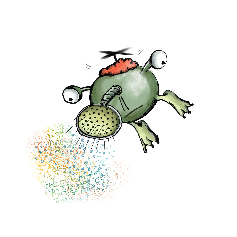 Flying Sprinkler