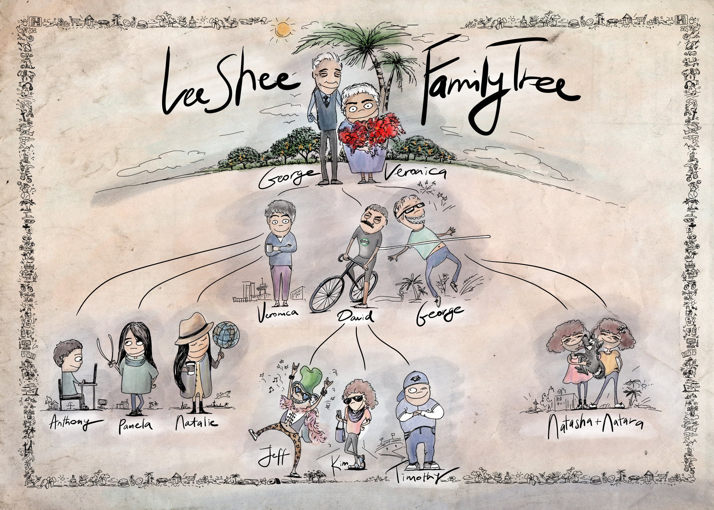 THE LEE SHEE FAMILY TREE