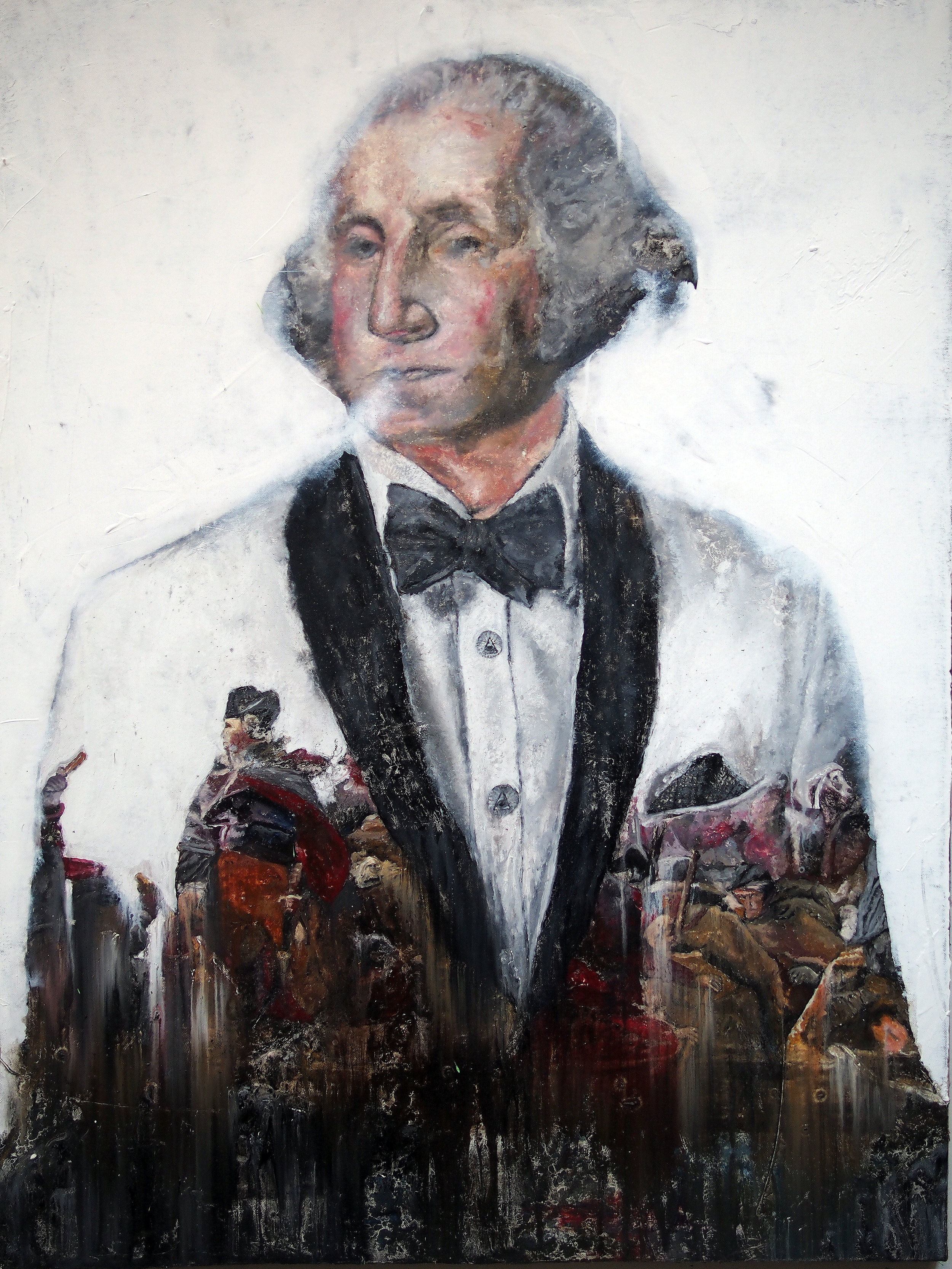 george washington painting crossing deleware