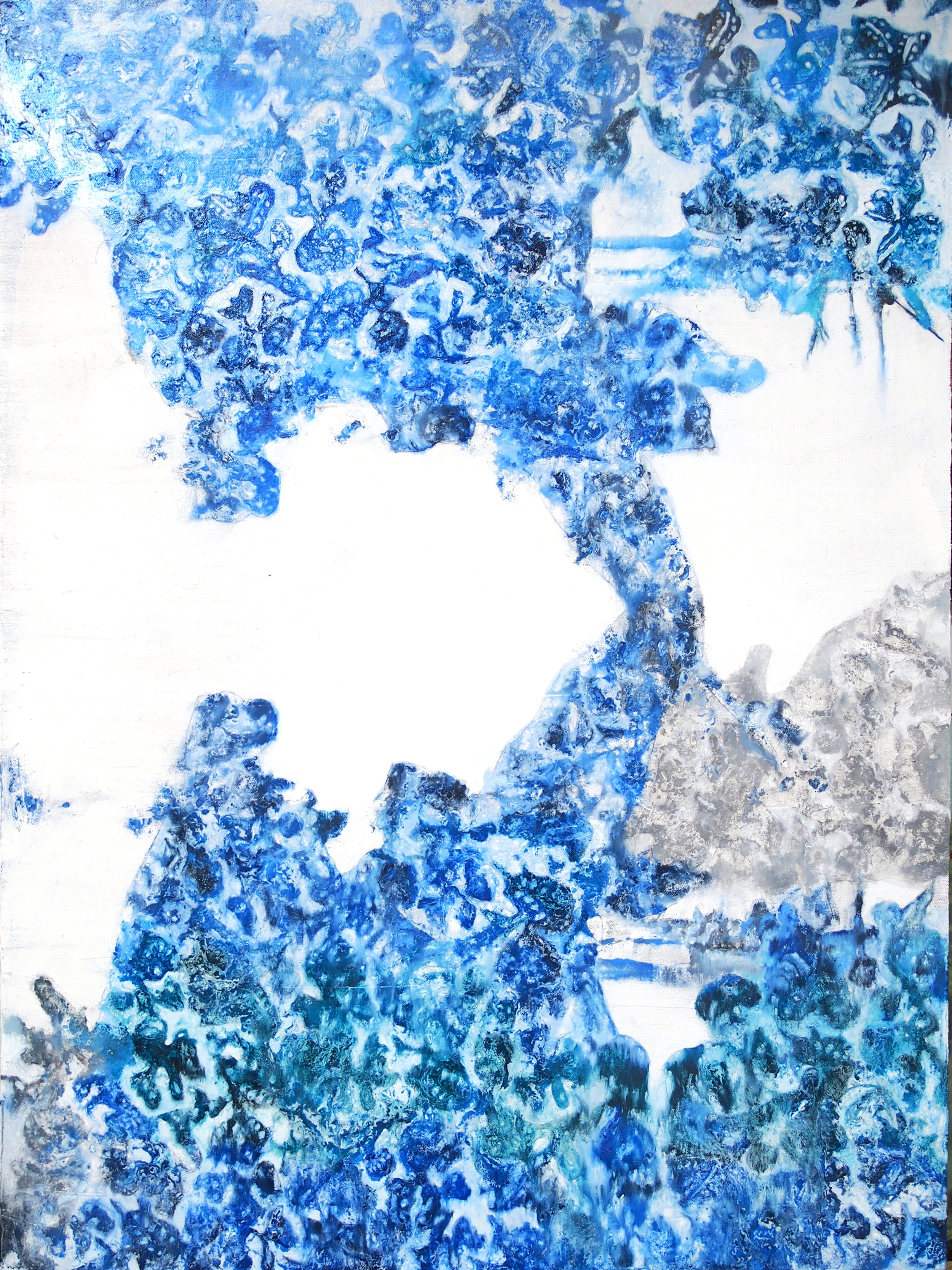 george washington textile painting