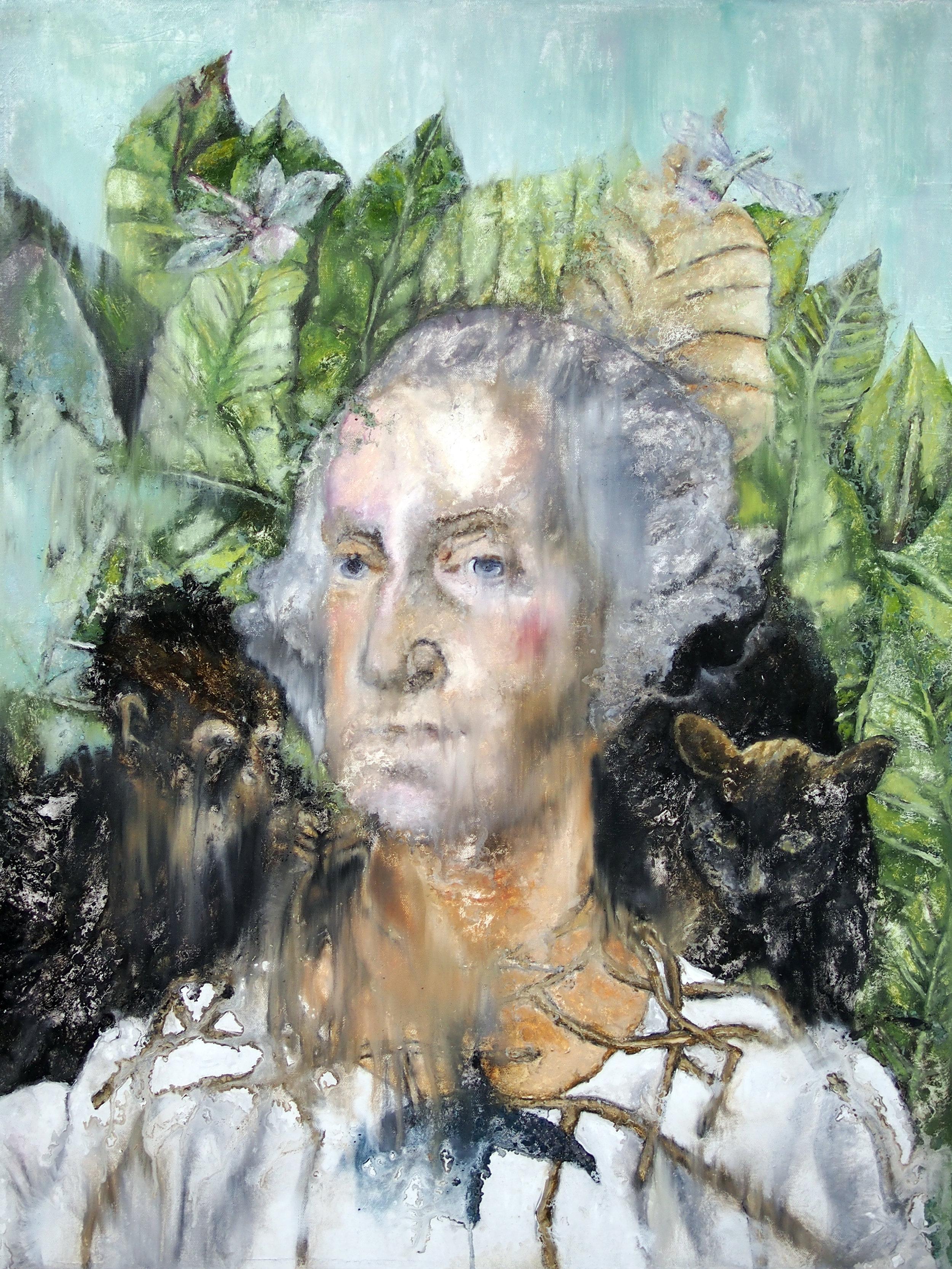 george washington frida kahlo painting